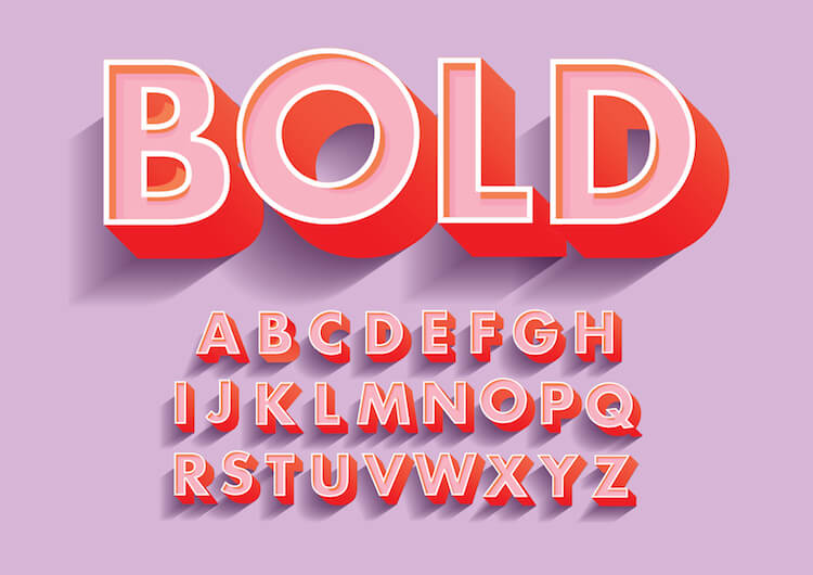 bold font examples
