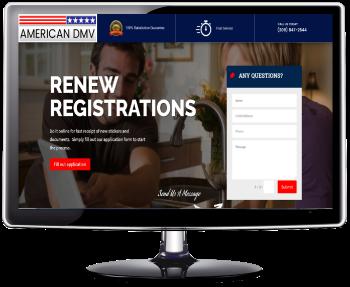 American DMV - Online Vehicle Registration