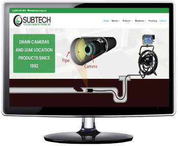 SubTech Manufacturing of pipeline cameras